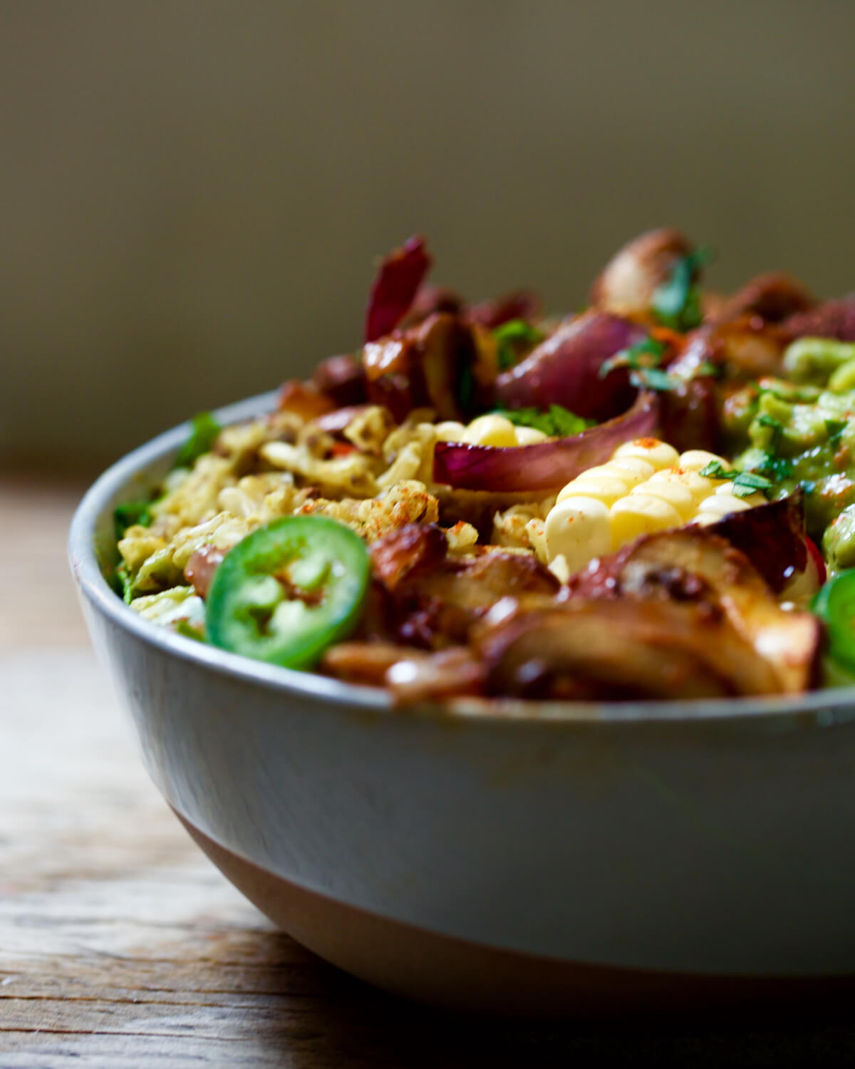 Mexican Vegetable Rice Bowl