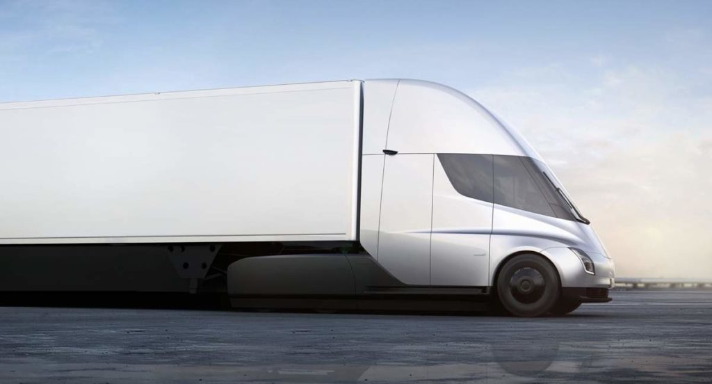 Tesla Electric Semi Truck 2 - Urban Papyrus