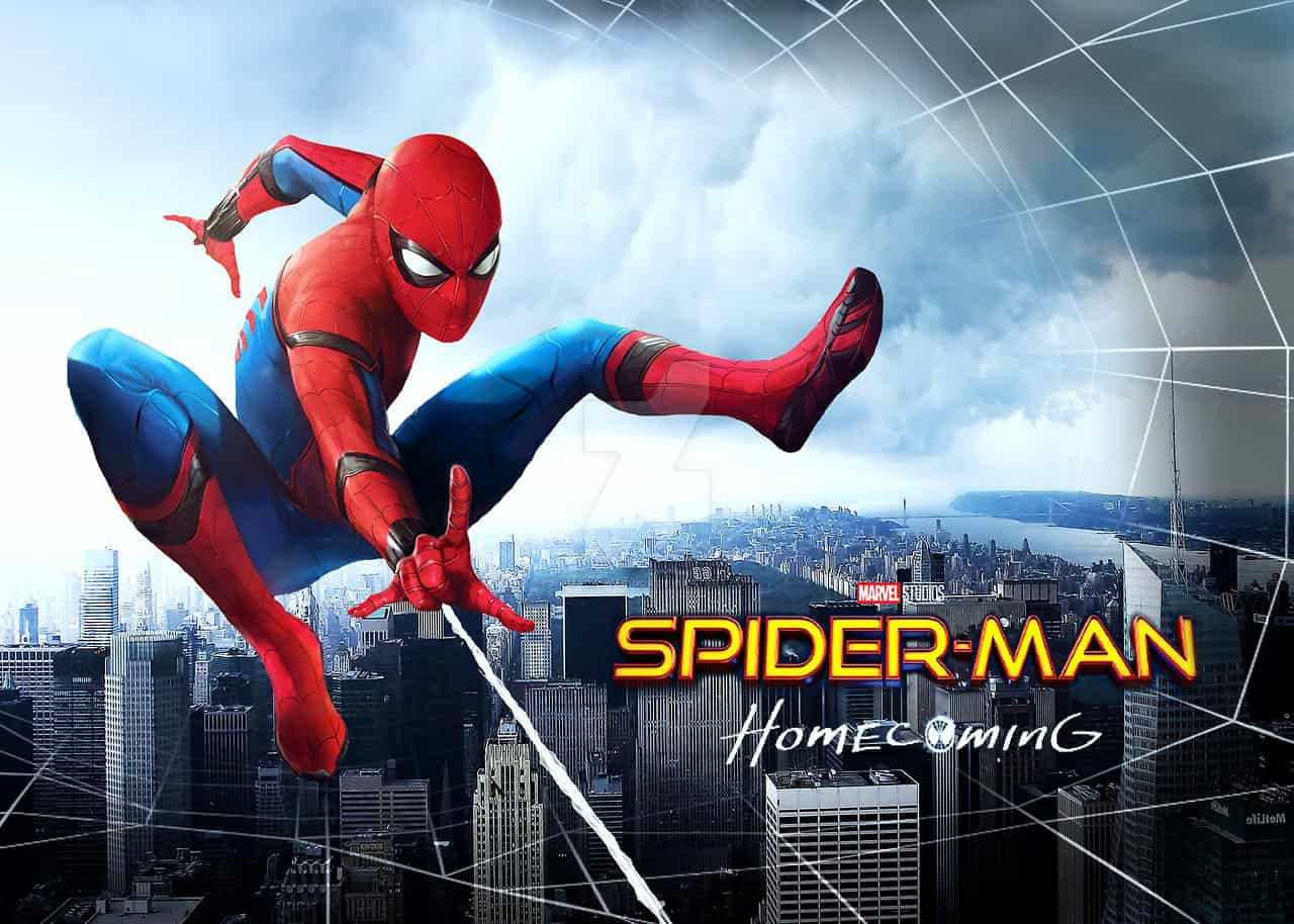 16. Spider-Man - Homecoming - Avengers Infinity War - Urban Papyrus