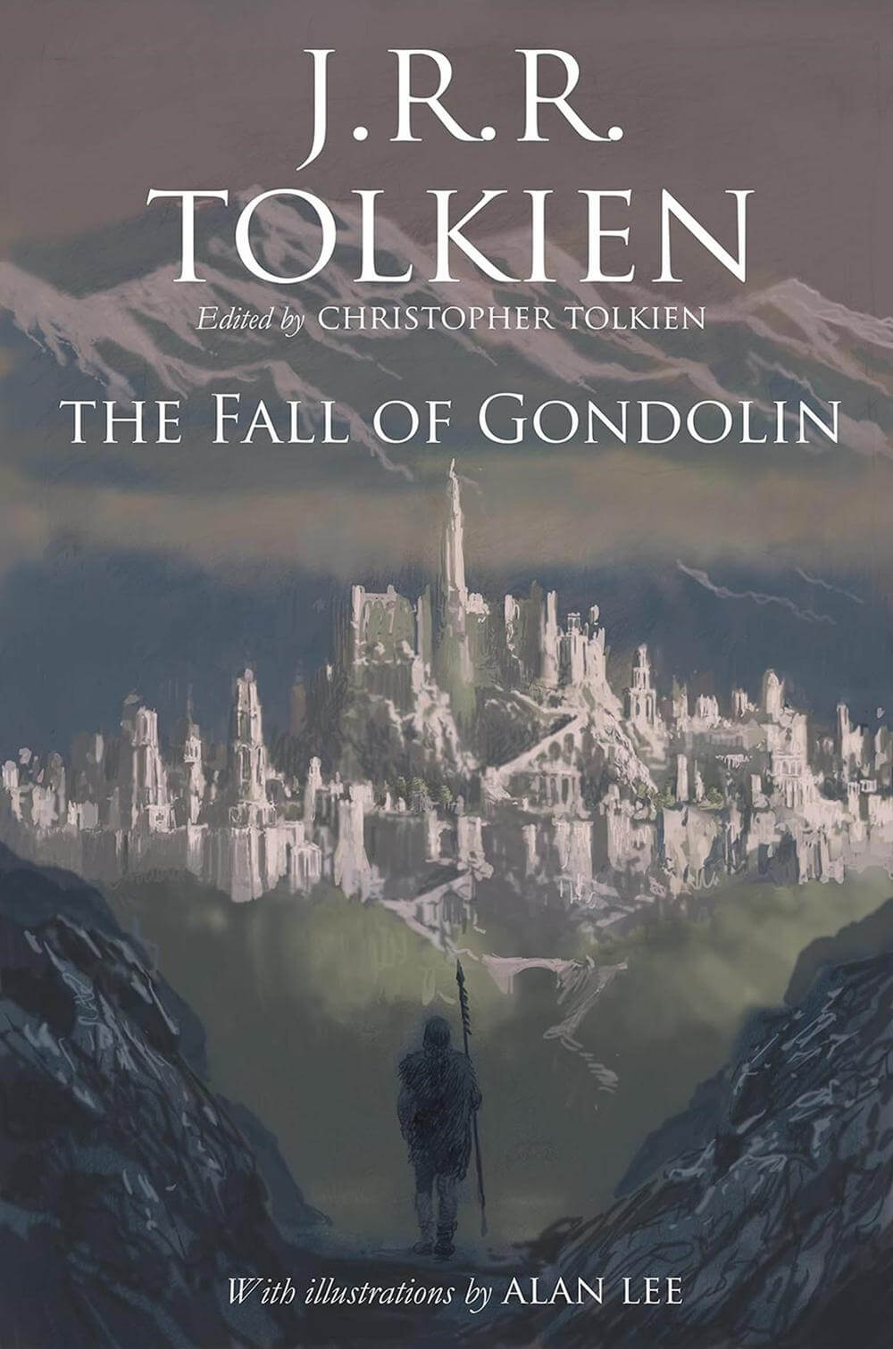 Main Cover - The Fall Of Gondolin - Lord Of The Rings