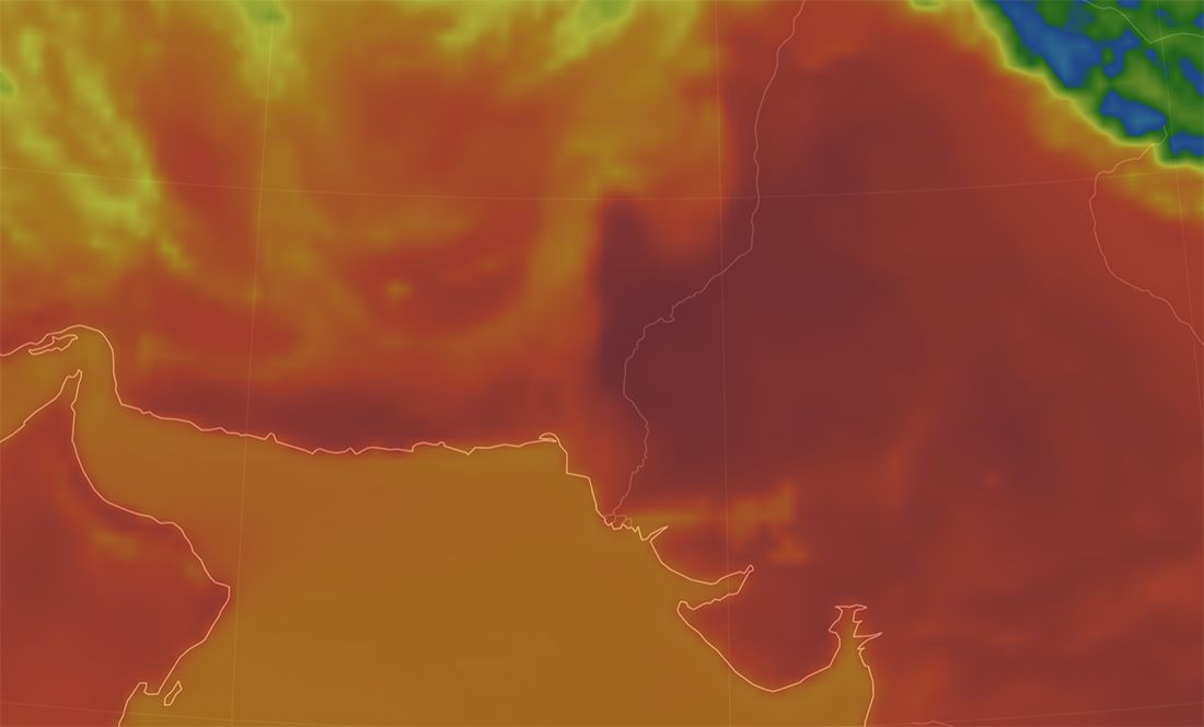 Heat Wave April 2018 - Nawabshah Pakistan Heat Dome India - Urban Papyrus