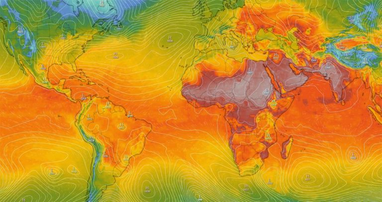 Heat Wave Asia Middle East - Nawabshah Pakistan Heat Dome India - Urban Papyrus