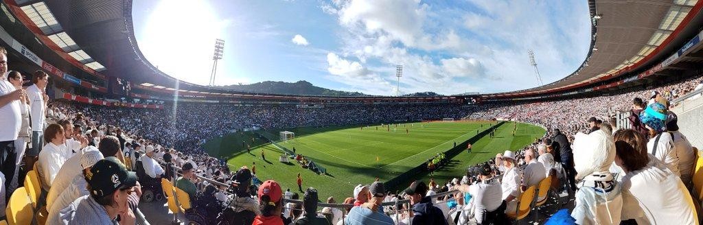 Stadium Crowds For The All Whites - New Zealand Football