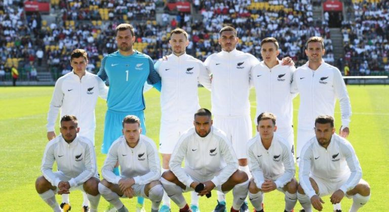 The All Whites Team - New Zealand Football