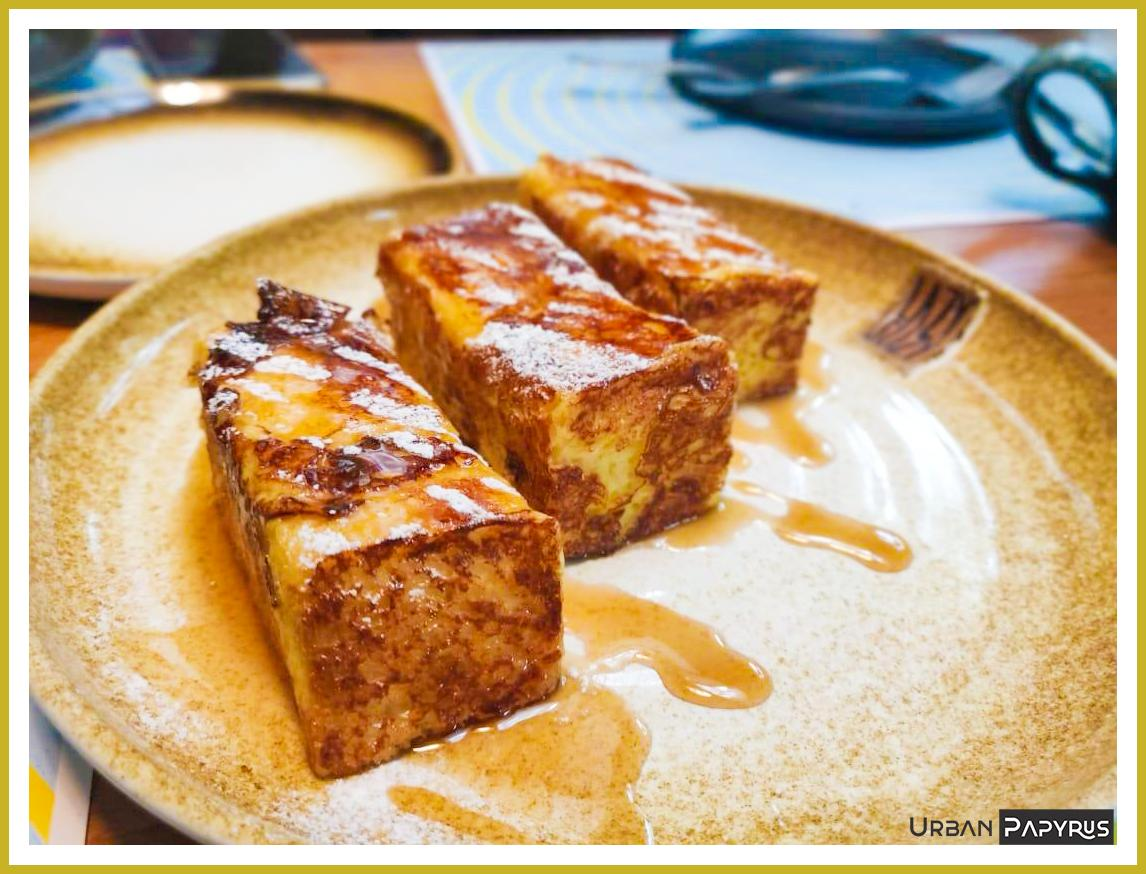 French Toast - Lazy Suzy Urban Review Urban Papyrus